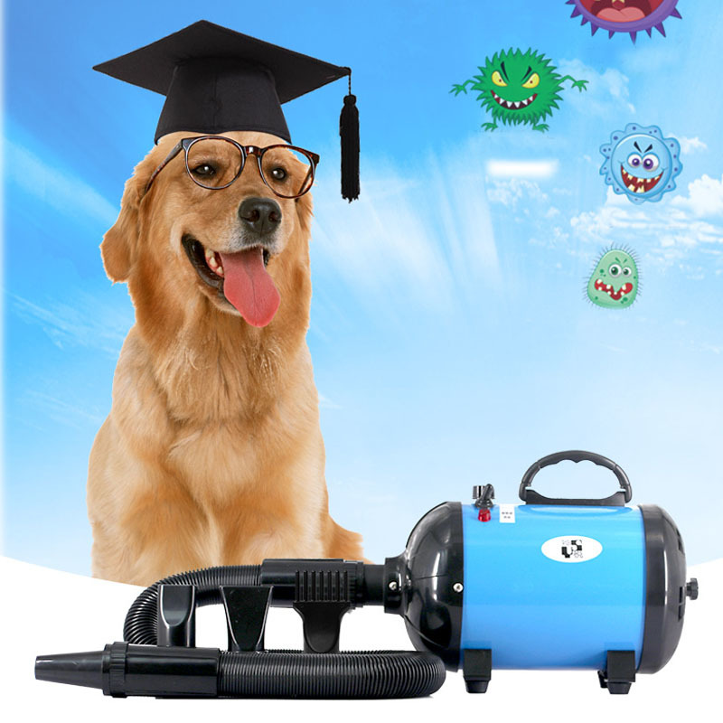 Pet grooming products Stepless speed control water blower for dogs