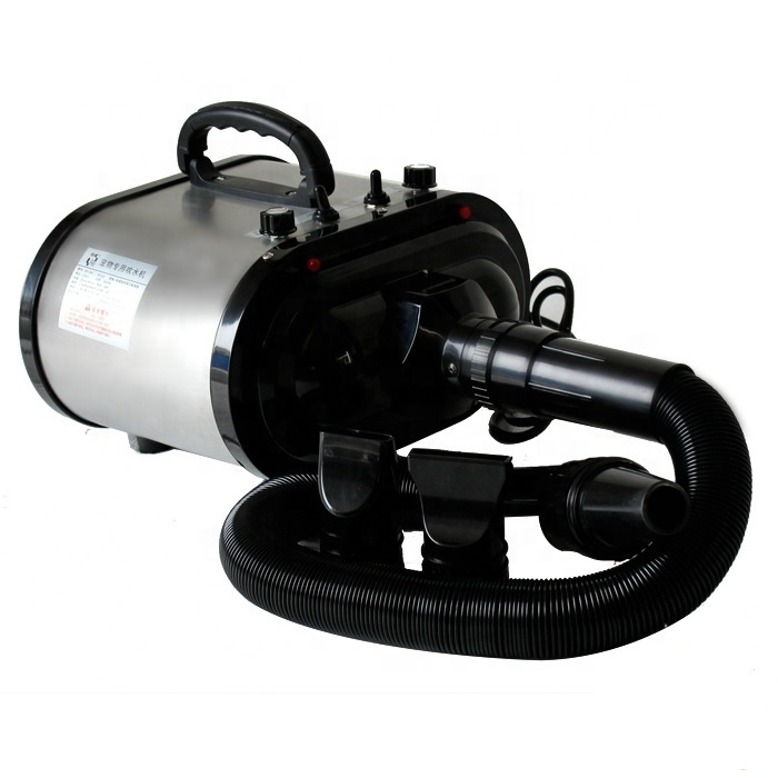 Dual Motor High Power Thermostat Adjustable Pet Special Water Blowing Machine Hair Dryer