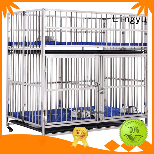 Lingyu stackable dog cage house for home
