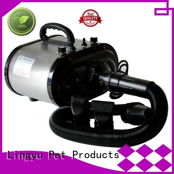 Lingyu blow best pet hair dryer blower for dogs