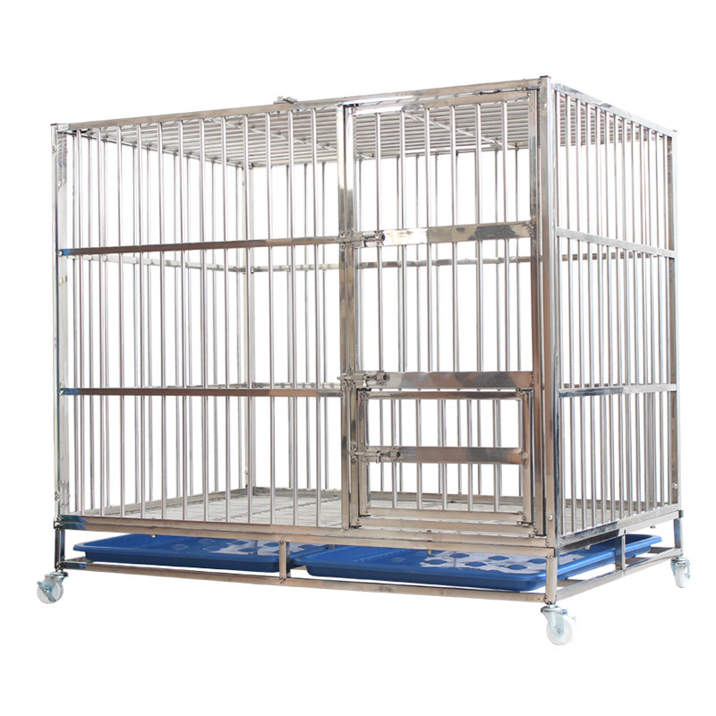 Welded Stainless Steel 304 Or 202 Pet Cage Dog Crate