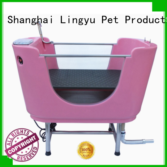 wholesale grooming tub with food control for sale