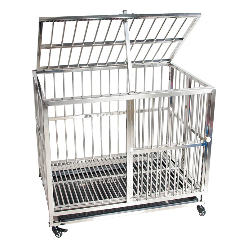 Best Sellers Travel Stainless Steel Custom Dog Cage For Sale Cheap