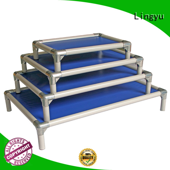 luxury elevated dog bed supplier for kennel