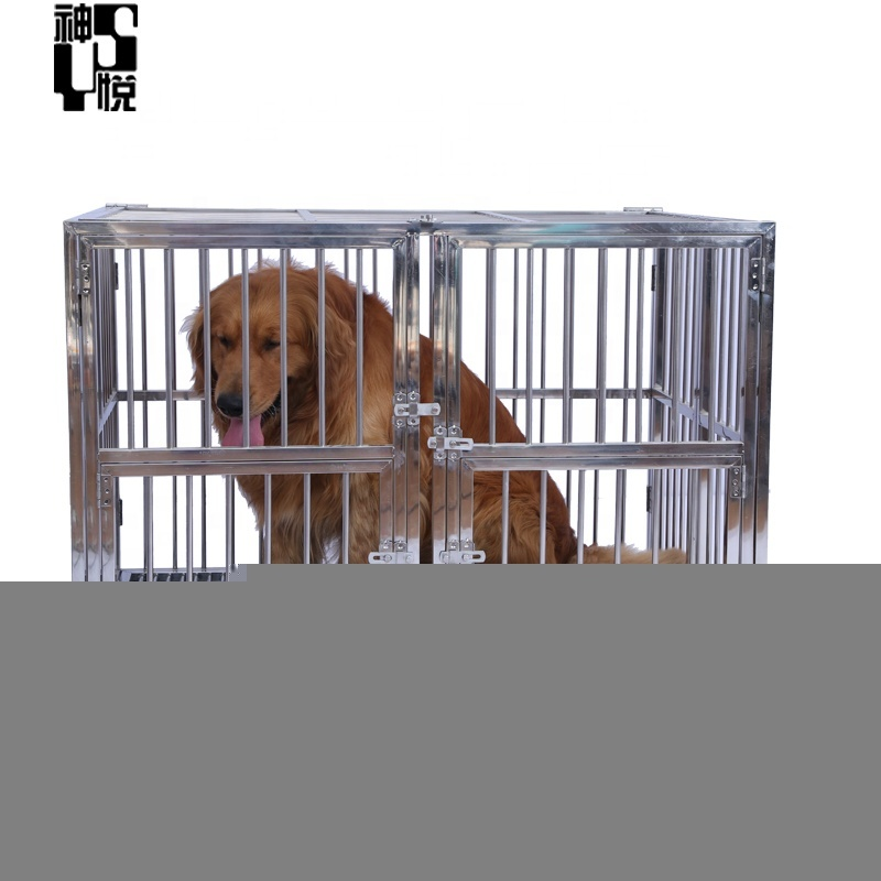 Custom strong stainless steel dog cage