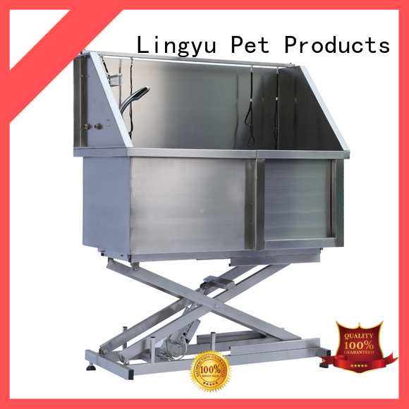Lingyu wholesale pet bathtub supplier for pets