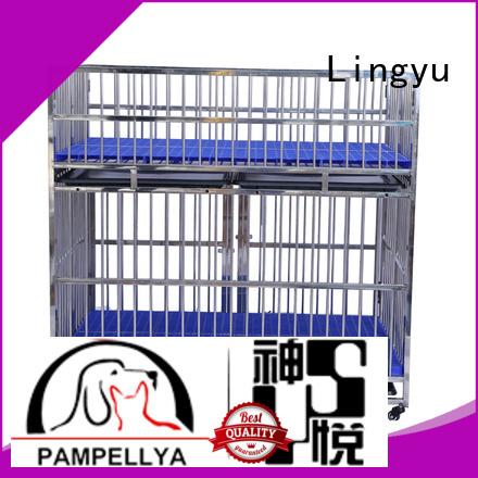 Lingyu xxxl dog kennel supplier for sale