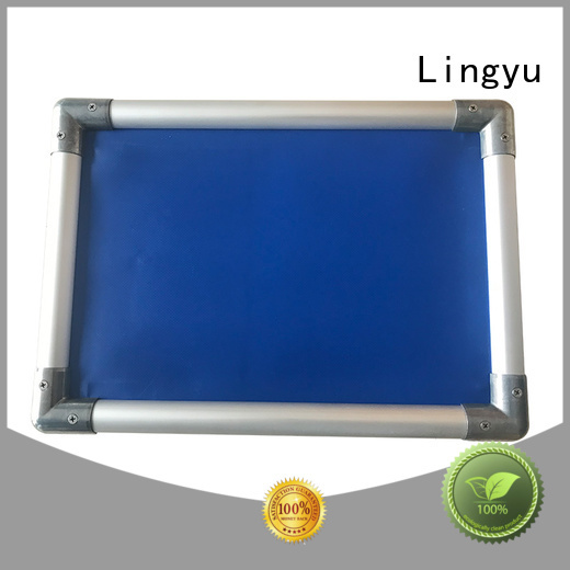 Lingyu high quality elevated dog bed for busniess for kennel