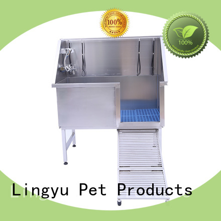 Lingyu grooming tub company for shower