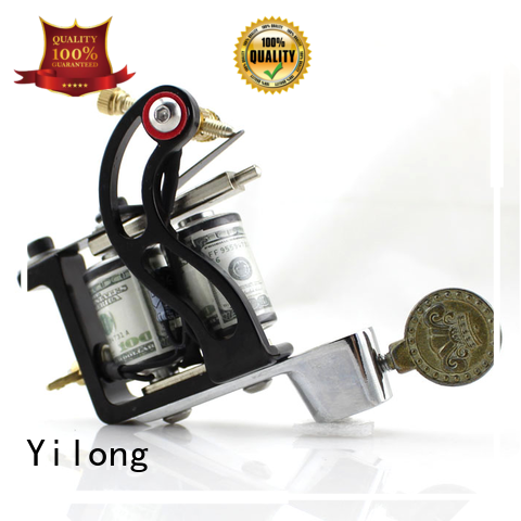 Yilong handmade rotary vs coil tattoo machine for sale for tattoo