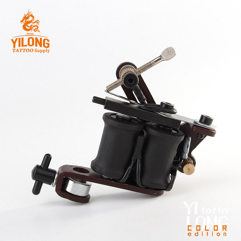 Yilong liner tatoo machine Iron Tattoo Machine Used for Lined and Shader Coil Tattoo Machine