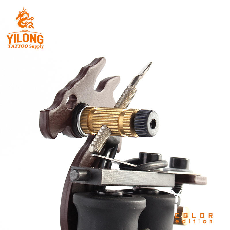 Yilong High Quality Iron Tattoo Machine Used for Lined and Shader Coil Tattoo Machine