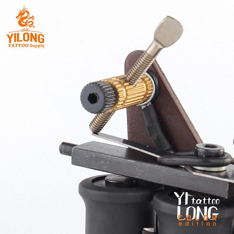 Yilong Iron Tattoo Machine Used for Lined and Shader Coil Tattoo Machine
