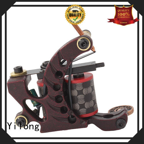Yilong engraved starter tattoo machine supply for tattoo