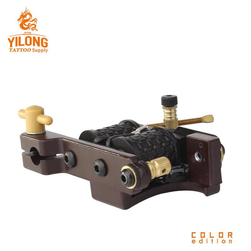 Yilong Tattoo AlloyTattoo CoilCut Mould Machine 10 Wrap steel Iron Core Machine
