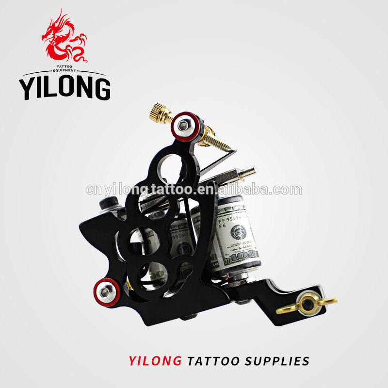 YILONGKnuckles Professional Tattoo Coil Machine for Body Tattoo