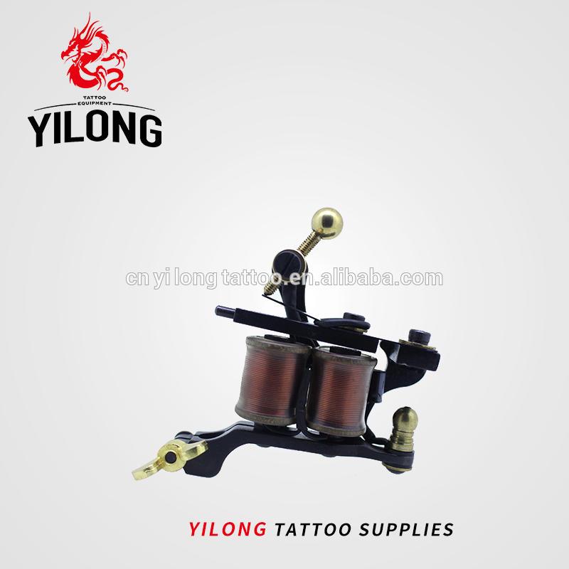 2018 Professional Elfin Steel Tattoo Machine Shader Coil Tattoo Machines