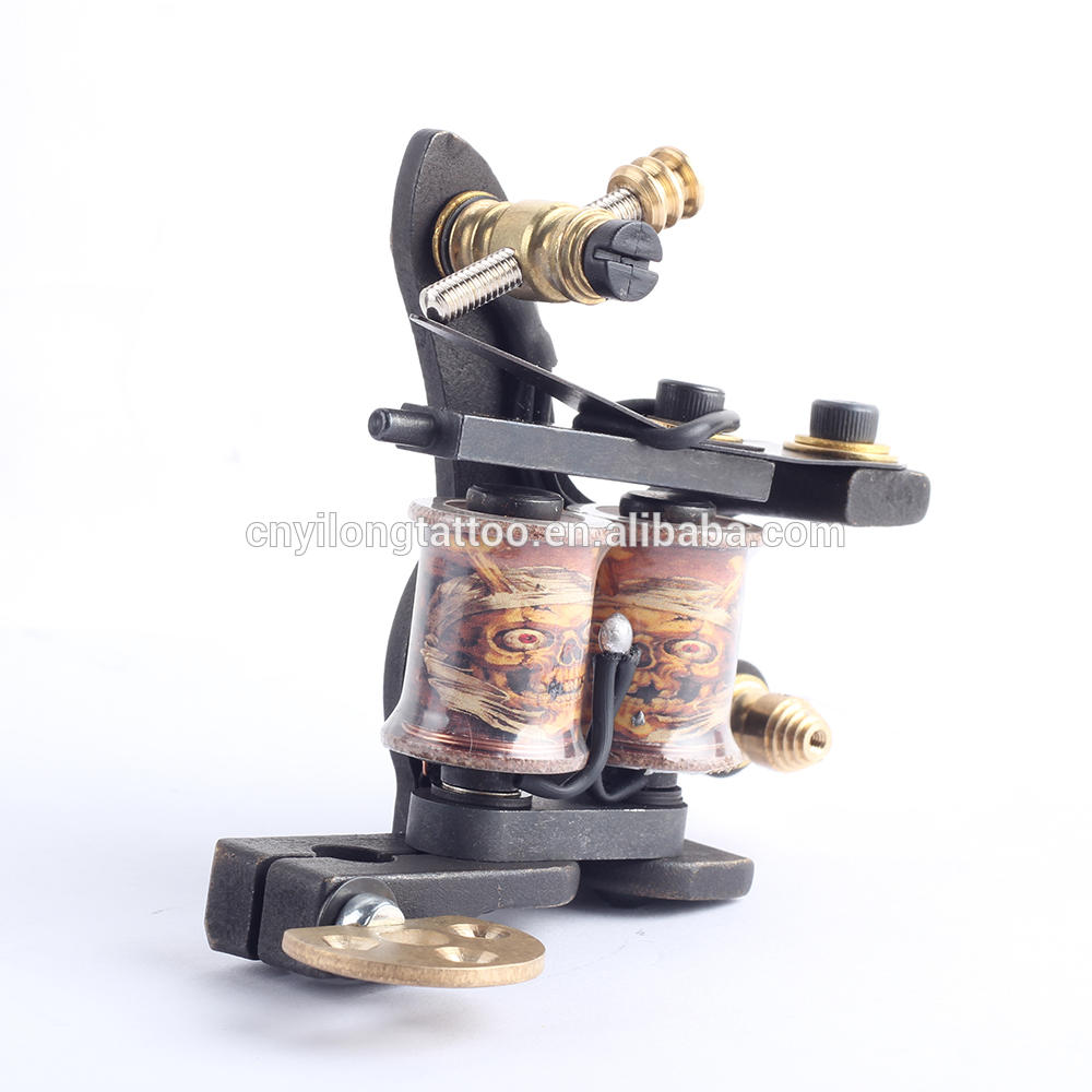 YILONG High Quality Coil Tattoo Machines for Two Tattoo Machine Gun As Liner and Shader with boxes
