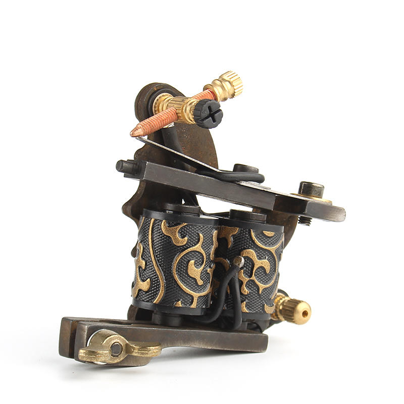 Yilong High Quality Coil Tattoo Machine 10 Warp Coil Light Weight Tattoo Guns For Shader&Line
