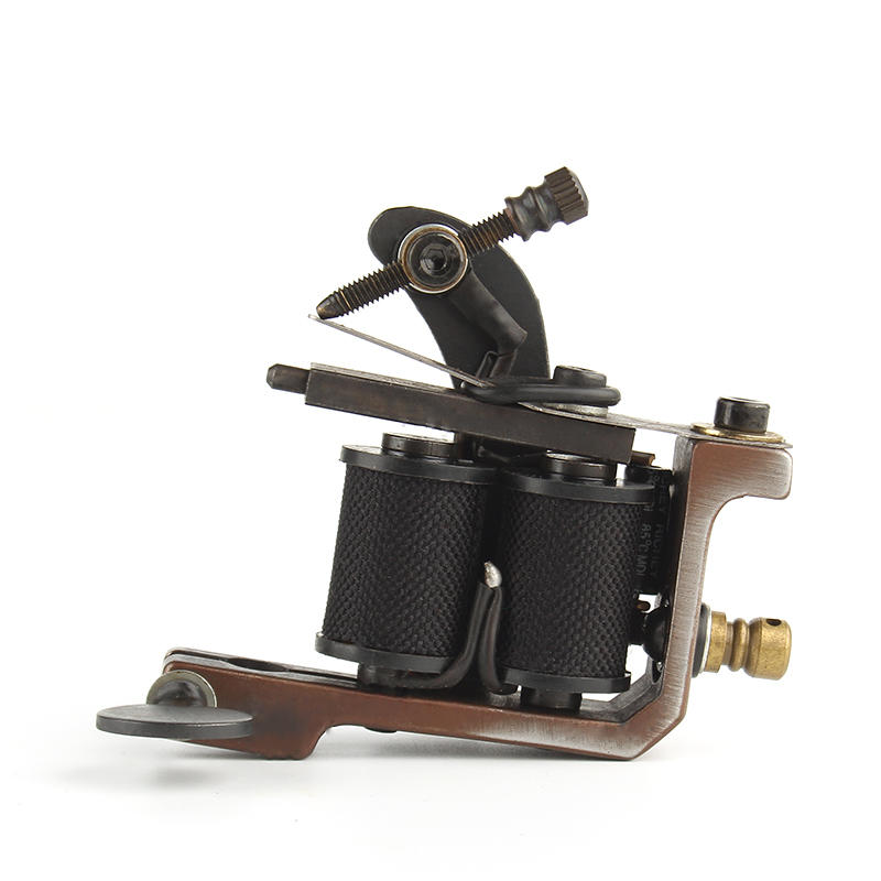 Yilong Top Quality Coil Tattoo Machine 10 Warp Coil Light Weight Tattoo Guns For Shader&Line