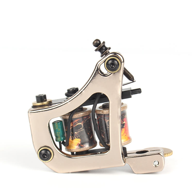Yilong Latest excellent coil tattoo machine Steel Tattoo Machine freecustom logo