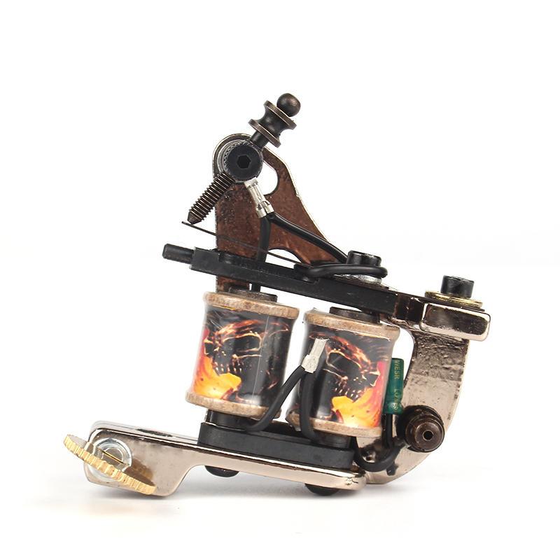 Yilong Handmade Tattoo Machine Set For Liner Coil Tattoo Machine
