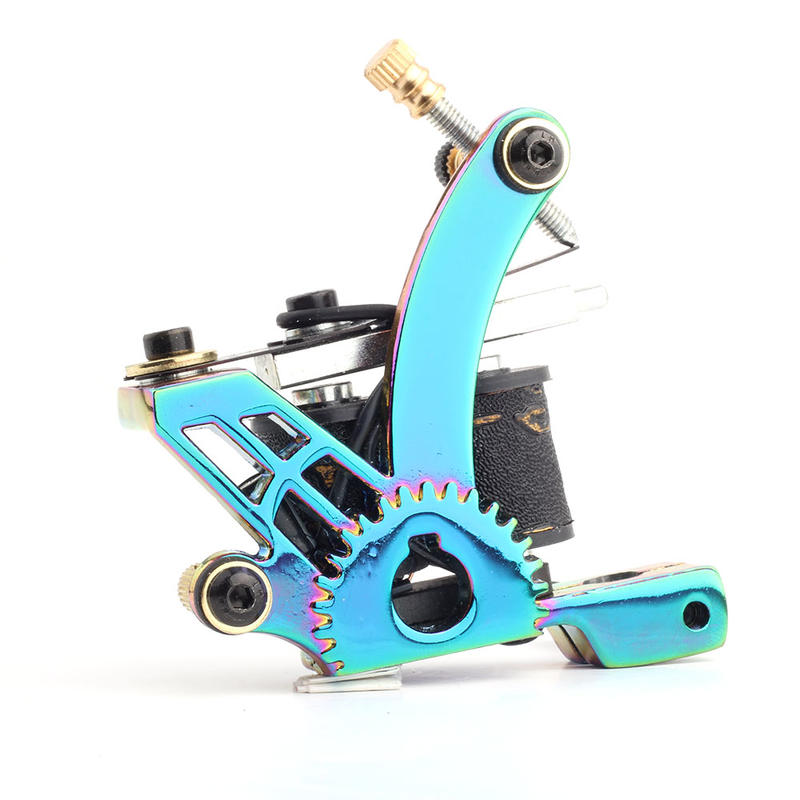 YILONG Hot sale fashion colorful titanium tattoo machine
