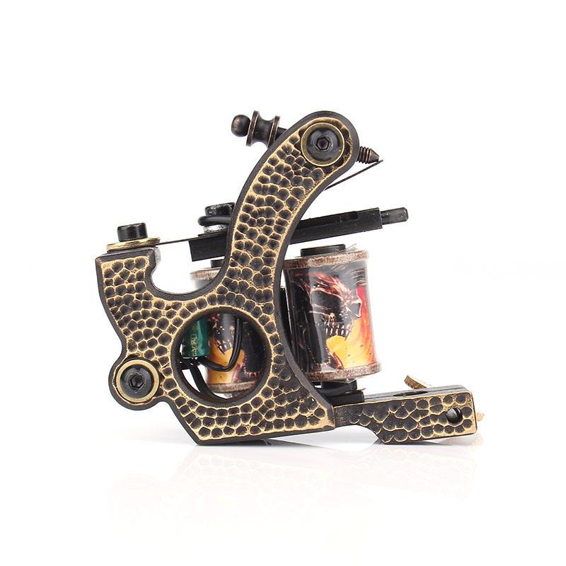 Yilong Permanent Makeup Tattoo Artist Pure Copper Tattoo Accessories Machine Coil Tattoo Gun