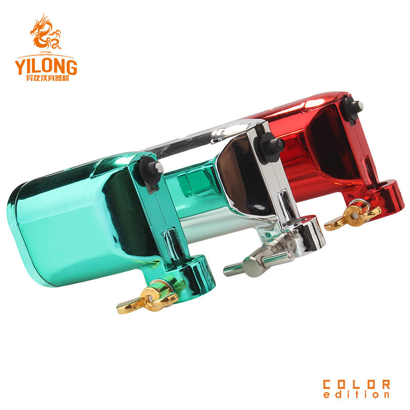 YILONG Plastic Tattoo Machine Silent Design With Stable Speed Import Tattoo Machine