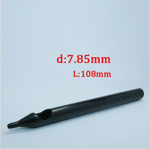 Premium Disposable Black Long Tip