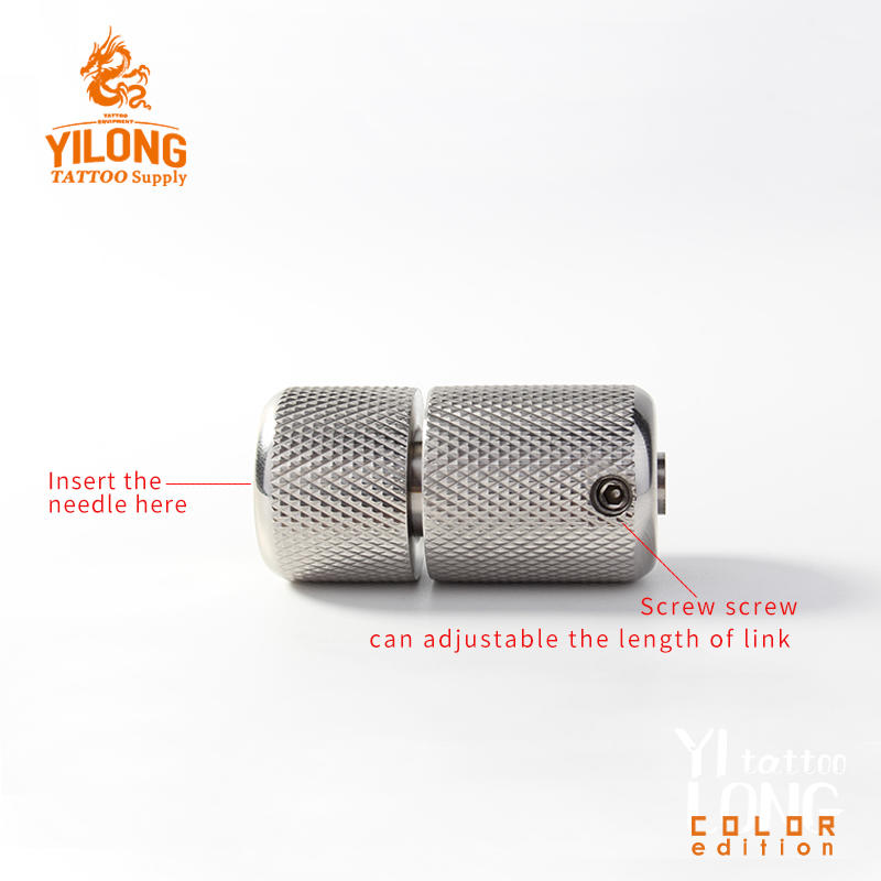 YILONG best selling products 2018 in USA Self-locking Steel Grip Tattoo grips handwriting Grips