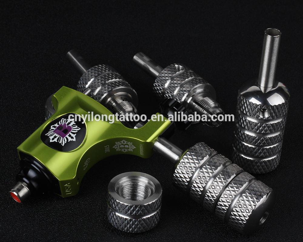 Yilong Stainless Steel 25mm s.s self-lockTattoo grip