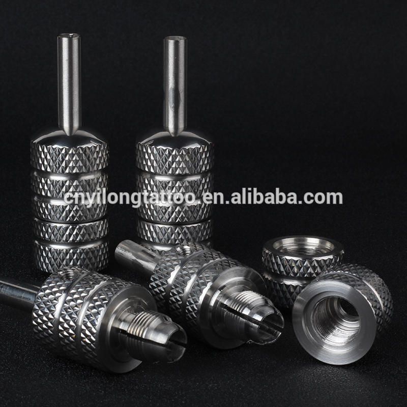 Yilong Stainless Steel 25mm s.s self-lockTattoo grip