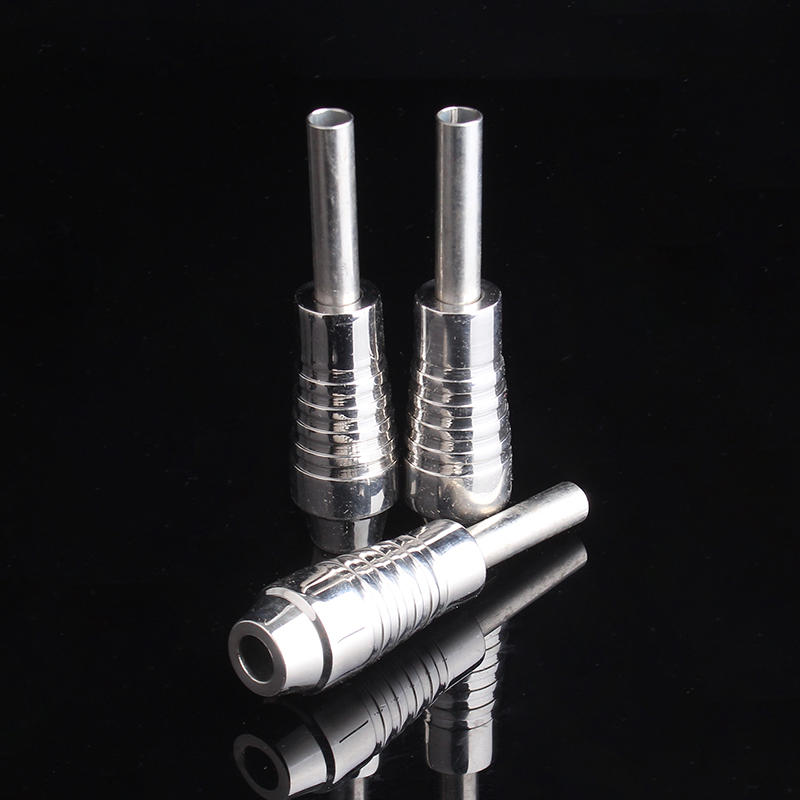 YILONG Hot Sale Stainless Tattoo Grip 25mm Tattoo Machine Grips Tubes Tips