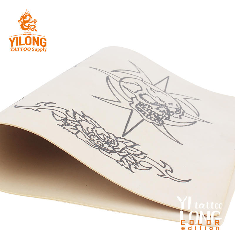 Yilong High Quality Permanent Make Up Tattoo Practice skin,Skull-100g (20cm*30)