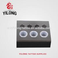Yilong Tattoo Stainless steel ink cap holder