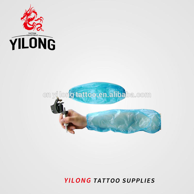 Disinfected sleeves Long-Disposable blue sleeves for tattooing