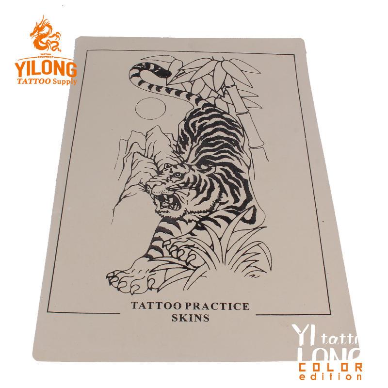 Yilong Tattoo Practice skin,tiger-100g 20*30cm