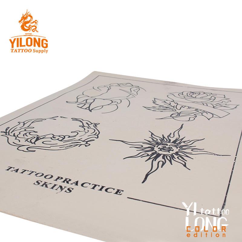 Yilong 2019 Hot Sale Tattoo Practice skin,flower-100g