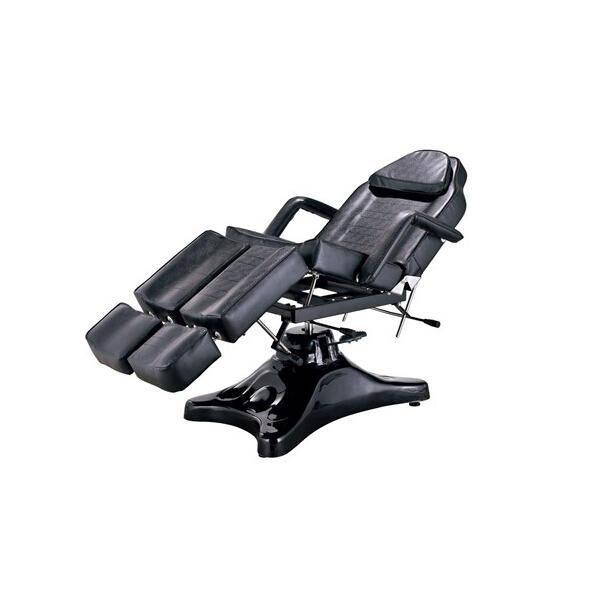 Yilong Buy Cheap Black Adjustable Salon massage table hydraulic facial tattoo bed Tattoo chair