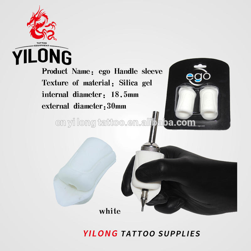 Yilong TattooHigh temperature disinfection Soft Professional EGO Grip Cover