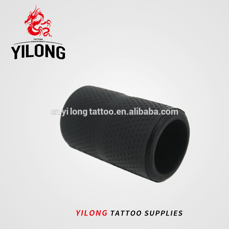 Yilong 2018 New Design Silicon Disposable Tattoo Grip Cover