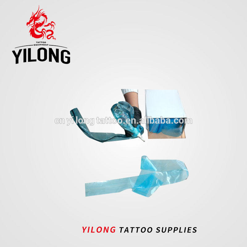 Yilong disposable clipcord sleeve Wholesale tattoo supplies Tattoo Machine Power Clip Cord Sleeves,tattoo clip cord cover