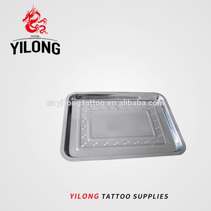 Yilong Tattoo Stainless Steel Tray for Sterilization eyebrow lip Tattoo Sterilization