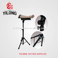Yilong Wholesale Tattoo Chair Black Color Comfortable Tattoo Ajustable tattoo armrest