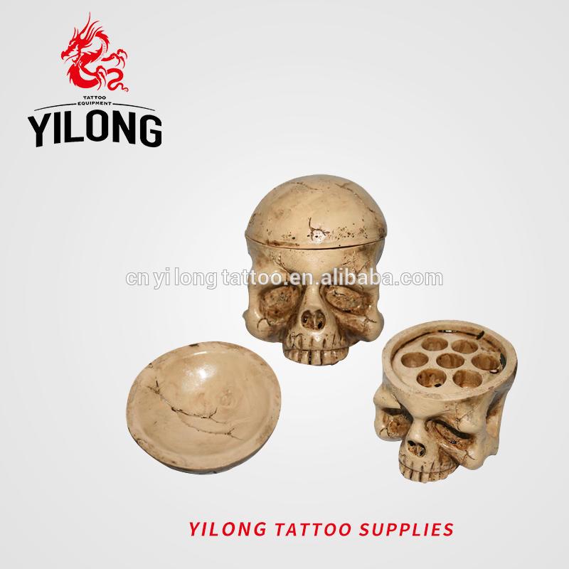 Skull ink cap holder-360g