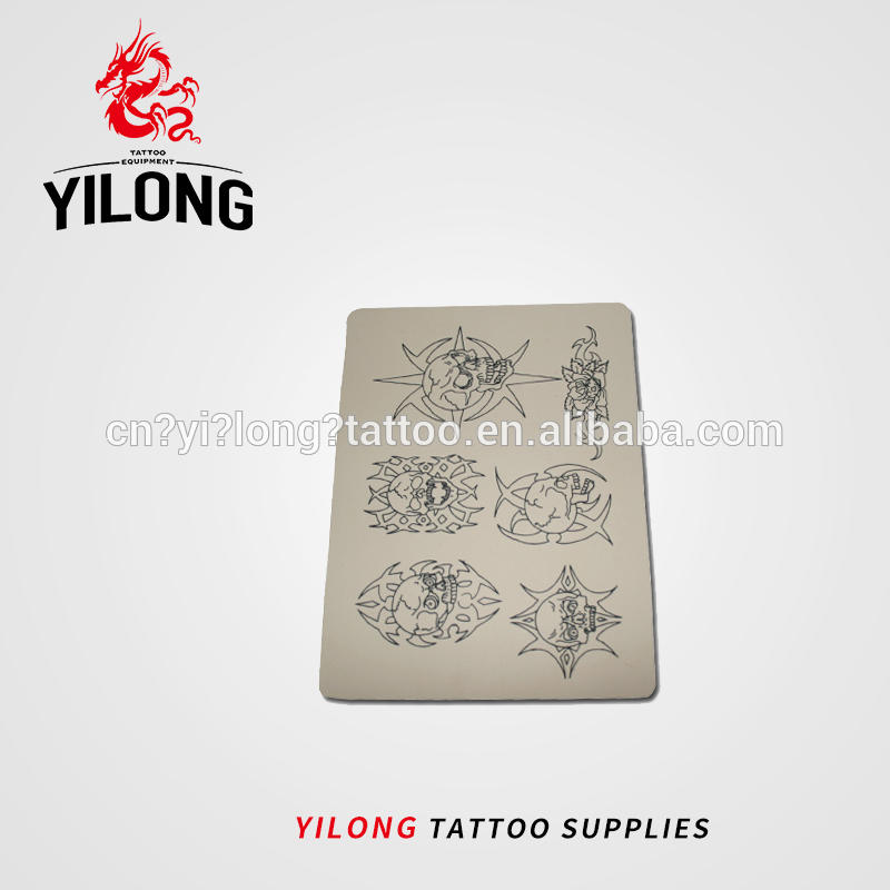 Wholesale factory direct lip and eyebrow tattoo practice skin for tattoo school Practice skin,tribal image-40g