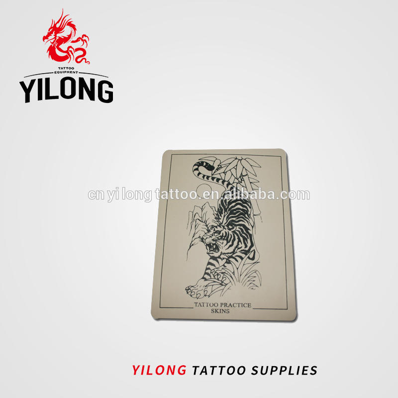 Yilong High Quality Tattoo Permanent Make UpPractice skin,tiger image-40g