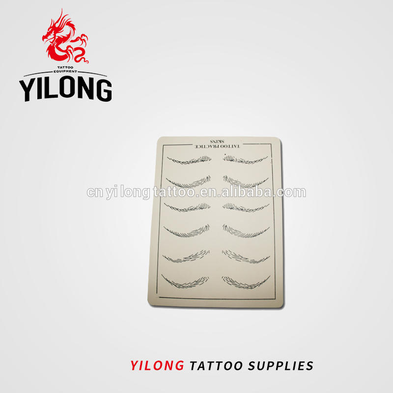 Yilong Professional Tattoo Practice skin Hot Cosmetic Microblading Practice Skin For Permanent Makeup Eyebrow/Lip FOB Reference