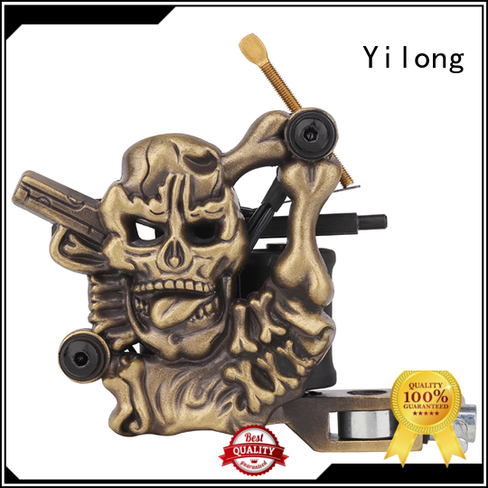 Yilong embossment rotary machine factory for tattoo